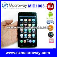 cheap sim card 5 inch tablet pc MTK6573