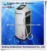 2013 New Cheapest price Beauty Equipment E-light+IPL+RF machine skin renovation