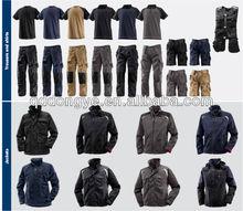 unisex cheap TC and 100% C mens work pant coat