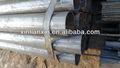 /bs gb fluido de mergulho quente galvanizou tubo de efeito estufa