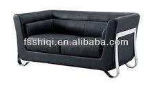Genuine leather sofa(115-2)