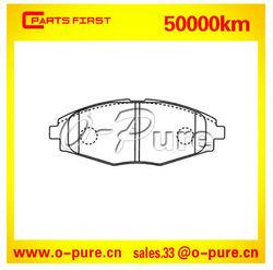 Brake pads fit for CHEVROLET MATIZ or DAEWOO LANOS O-pure semi-metal brake pad 9627 3708 none asbestos high quality best seller