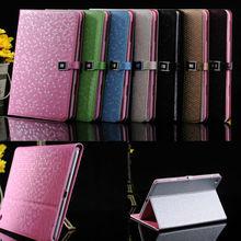 Belt buckle leather case for iPad mini