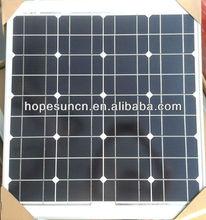 5w/10w/15w/30w/40w polycrystalline and monocrystalline Solar Module / Solar Panel