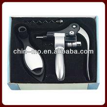 gift packed plastic zinc alloy rabbit wine corkscrew opener