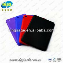 2013 style silicone case for mini new ipad