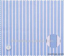 Fabric cotton blue and white stripe 40x40 133x100