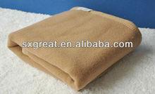 Super soft pure camel wool blanket