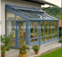 outdoor glass panel