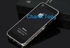 For iPhone 5 Silver Diamond Bumper Case