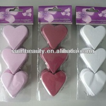 valentine heart tissue confetti ornament