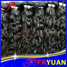2013 best selling Grade AAAAA 100% human hair natural black unprocessed virgin russian hair