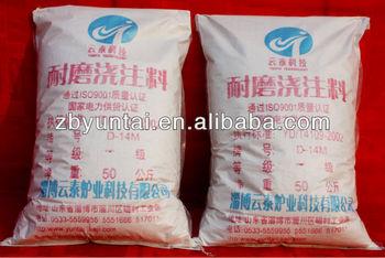 High wearproof castable cement refractory cement