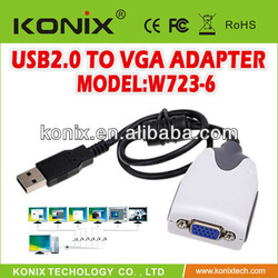 Supports multiple display modes vga rca adapter