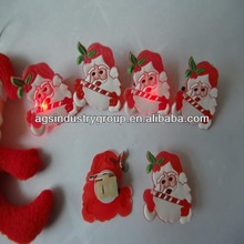 Santa Claus silica gel with lamp ring