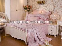 Graceful 100% Tencel Jacquard Bedding Set/Sheet/Fabric/Pillow