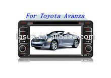 ISUN With PIP&Digital amplifier In dash car dvd player for Toyota Avanza