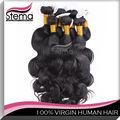 Venta al por mayor sin procesar de la virgen del pelo brasileño