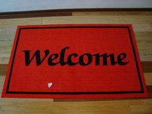 welcome logo mat