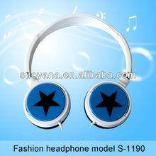 Promotion gift fashional rotatable basketball earphones