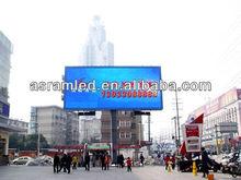 Hot alibaba 2013 high brightness outdoor advertisement billboard poles
