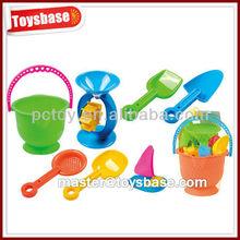7pcs Mini sand beach toys