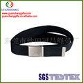el más barato de fábrica personalizada tejido banda cinturones de la cintura