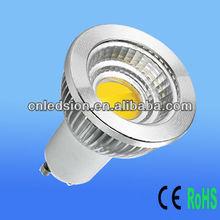 600lm 6W GU10 COB LED Spot Light Ceramic PCB