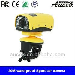WATERPROOF mini Cam in pocket bike 20 M UNDERWATER NIGHT VISION SPORTS VIDEO CAMERA MINI DVR CAM