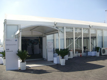 USED 15x40m Big Hocker Tents For Events Manufactured By SHELTER 2008 Beijing Olympic Games Official Supplier