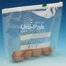 ziplock transparent plastic food container