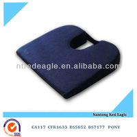 memory foam coccyx seat wedge / seat cushion
