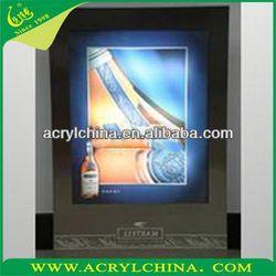 Wholesale Imported Acrylic wine Advertise sign frame LED lighted