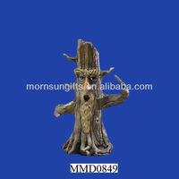 Polyresin man tree incense burner