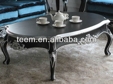Living room european classic coffee table, solid wood MDF coffee table