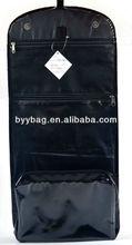 600d + satin material wash cosmetic bags