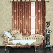2012 Hot Sale Latest Luxurious Printed Blackout Curtains(finestra di trattamento negozi)