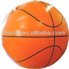 cheap pvc helium balloon for advertising ,basketball model hot sale