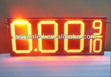 """Sinoela waterproof outdoor 7 Segment digital number, 12"""" inch 8.889 4 digits led gas price sign board"""