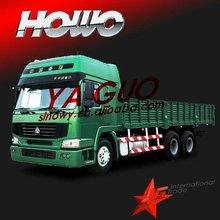 Howo 6*4 cargo truck sino van price