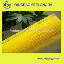 Fiberglass net exterior continuous insulation for EIFS