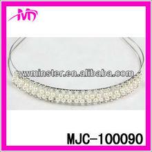 cheap pearl&rhinestone tiara for kids