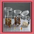 Acrílico del cilindro de plástico de alimentos containerfor, de plástico acrílico candy de contenedores