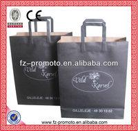 black cloth paper bags