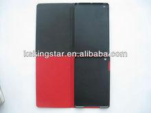 book style genuine leather case for ipad mini