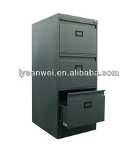 3 drawers vertical filing cabinet knock down SW-XD0039