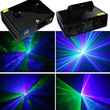 wholesale 280mw stage lighting green violet mixed dj disco laser lights laser show system