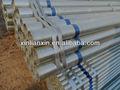 tuyaux en acier tube carré en acier galvanisé de tuyaux en fer