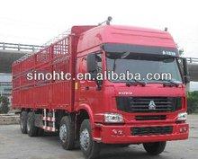 30 tons HOWO 8x4 dry van truck