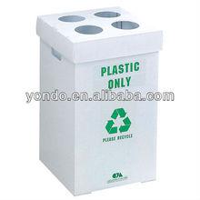 Collapsible Coroplast Recycle Bin